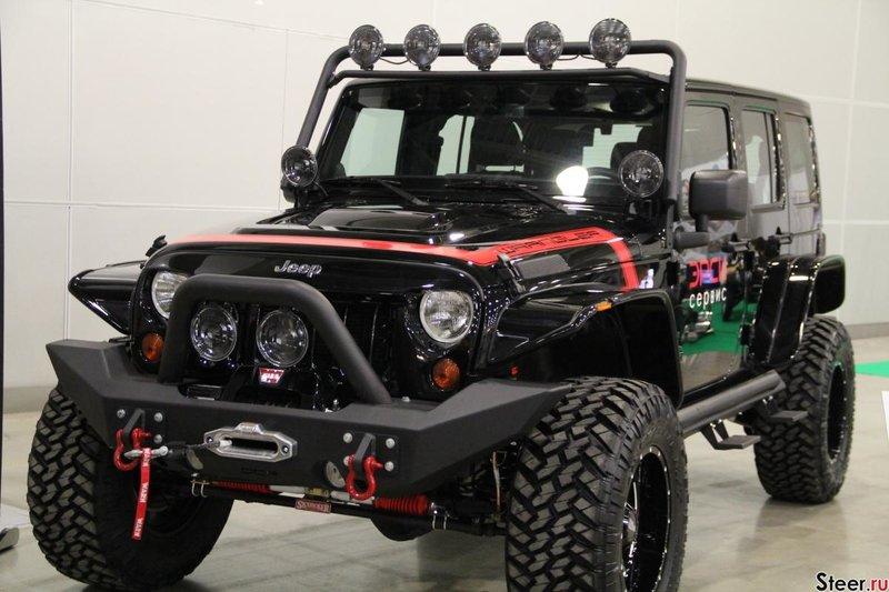 Джип-вездеход Jeep Wrangler Rubicon