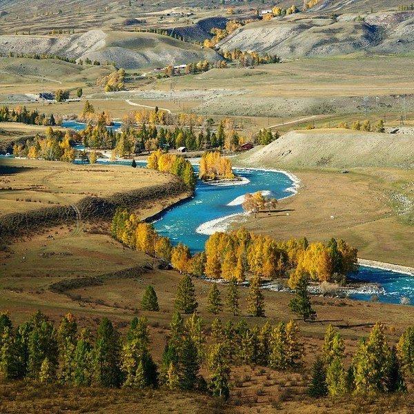 Долина реки Чуя, Горный Алтай