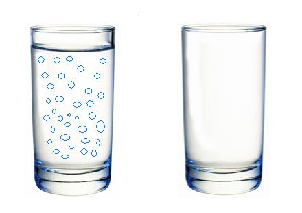 полный стакан