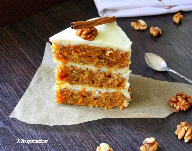 Рецепт с фото морковного торта