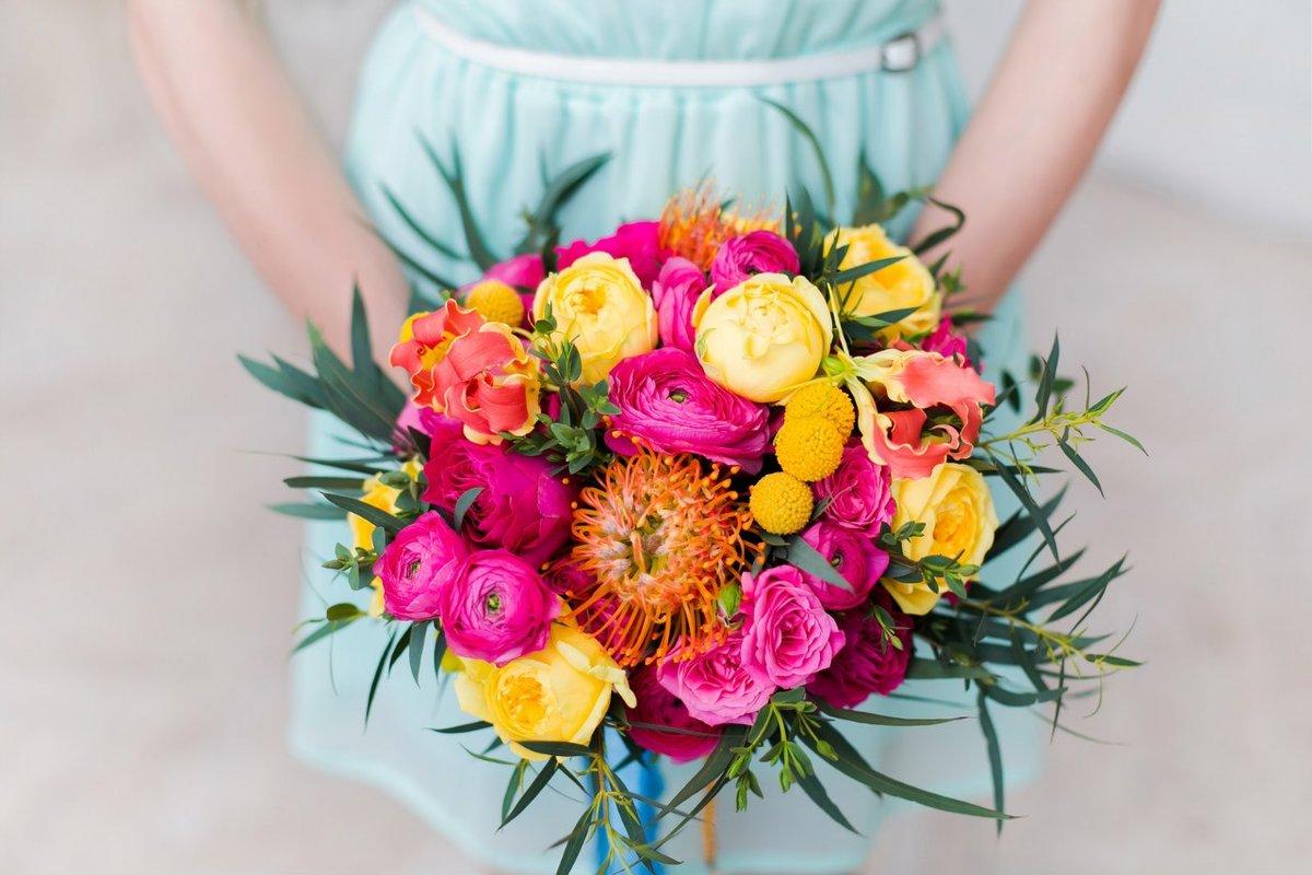 Букет, яркие букеты бразильского флориста