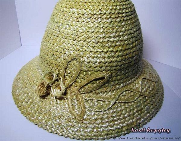 Соломенная шляпка.