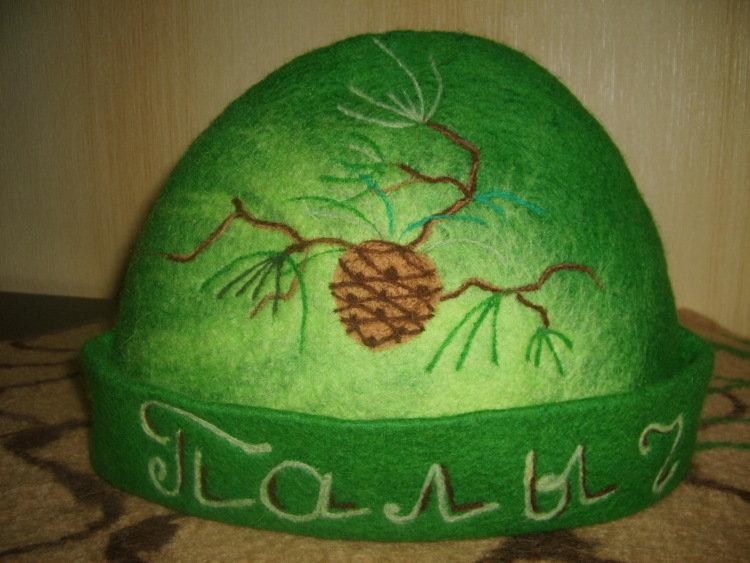 нашем валяные шапки для бани люди взагалі присвячують