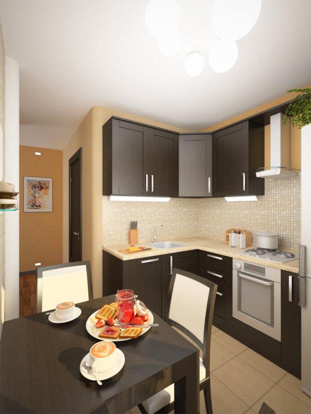 красивые дизайн кухни фото