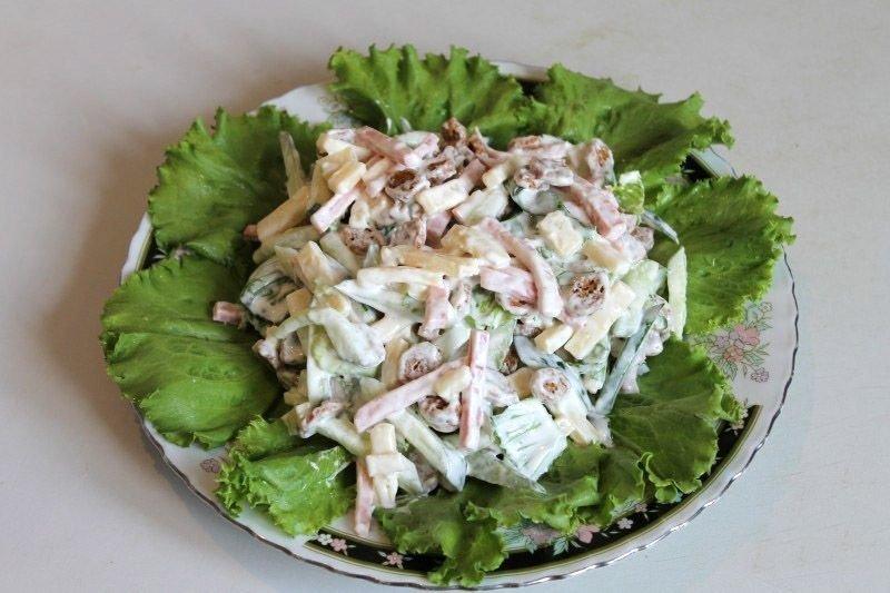 Салат малибу классический рецепт с фото