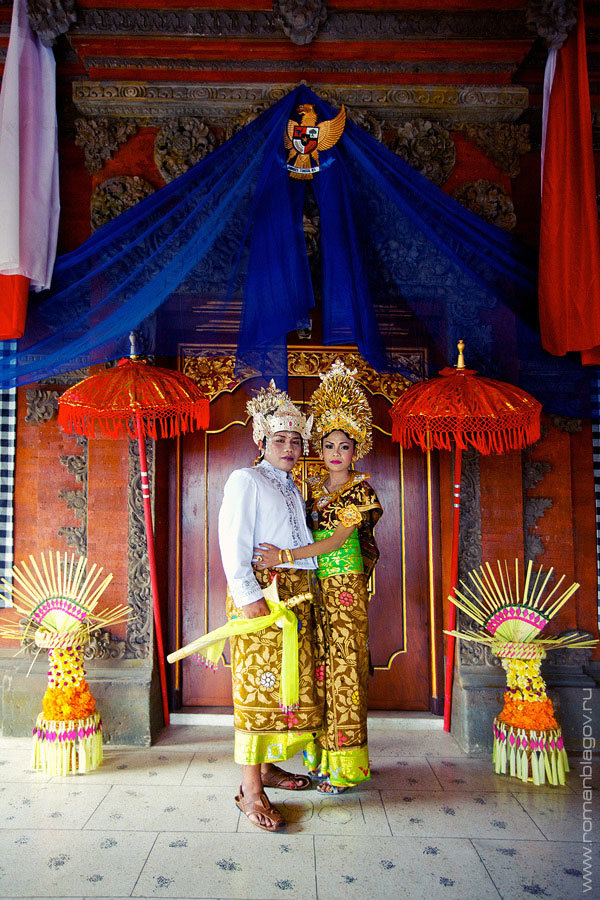 Настоящая свадьба на Бали.