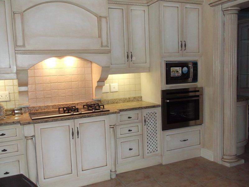 Кухонный комплект с винтажным налетом