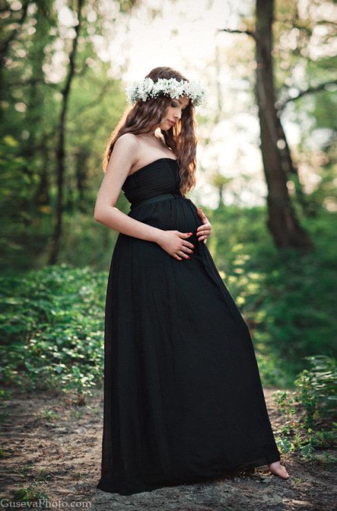 Нежная фотосессия в платье