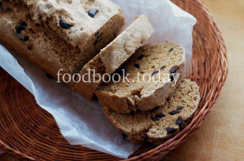 Цельнозерновой хлеб с маслинами