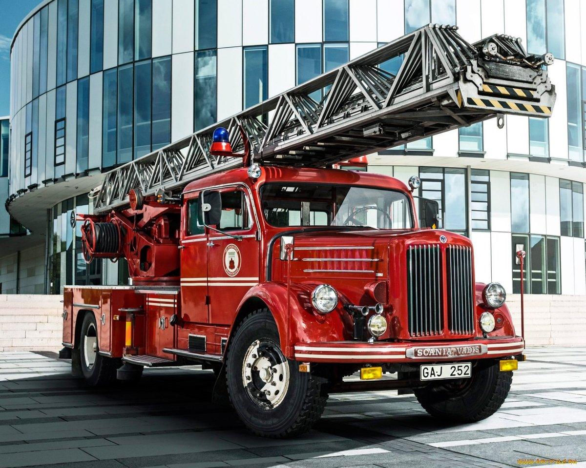 Пожарный машина картинки