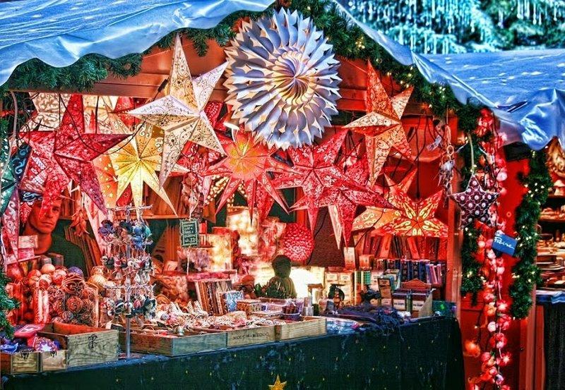 празднование рождества в Цюрихе