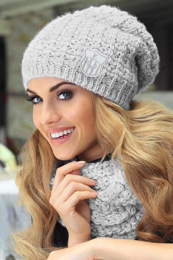 Зимние женские шапки своими руками