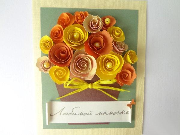 Стихом любимой, на день рождения.бабушки открытка с своими руками
