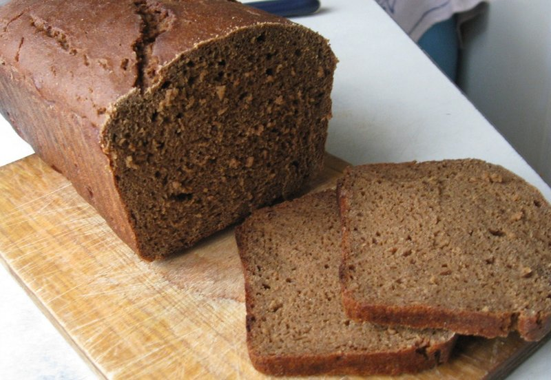 Ржаной хлеб в хлебопечке рецепт с фото