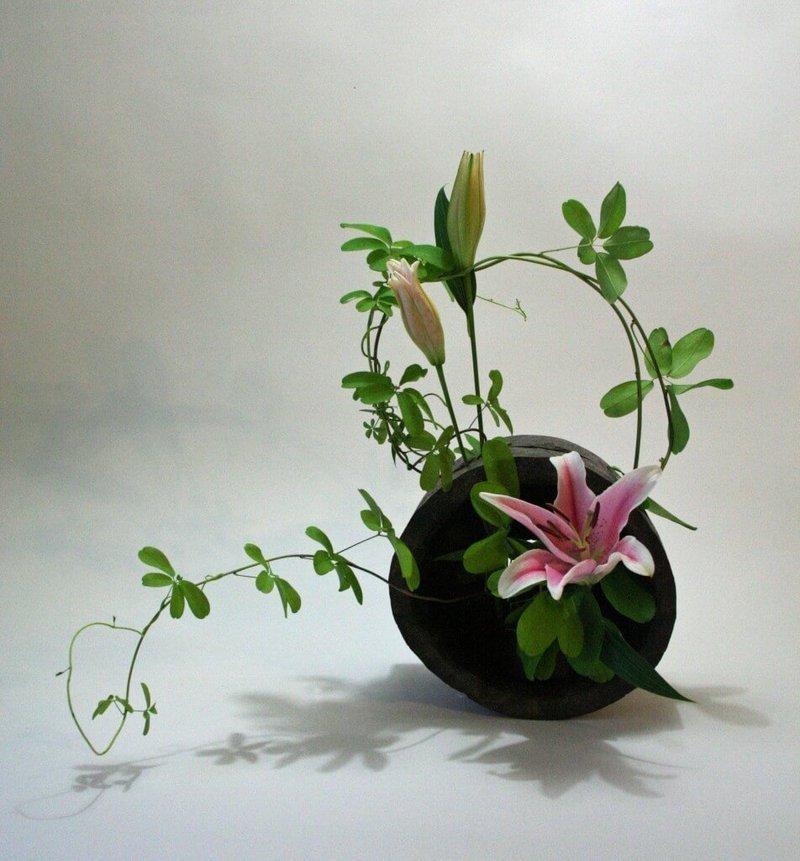 Экология потребления. Основная задача икебаны — подчеркнуть красоту одного цветка. Их в композиции может быть