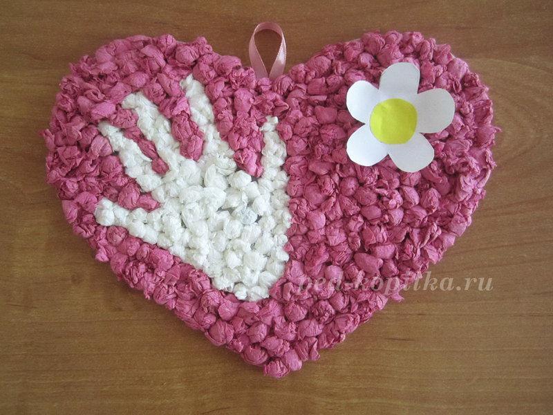 Подарок своими руками на день матери маме