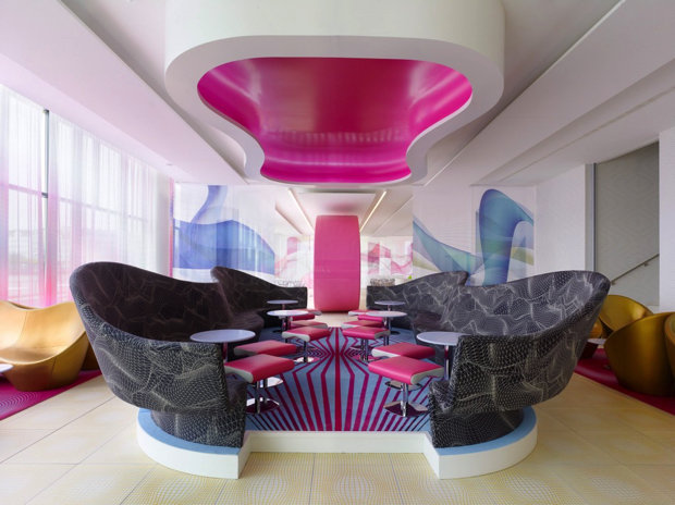A well known personality in the world of design, recognized for the unique design of Karim Rashid | Please enjoy our selection