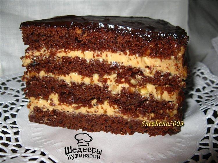 Бисквитные торты рецепты простые с фото пошагово