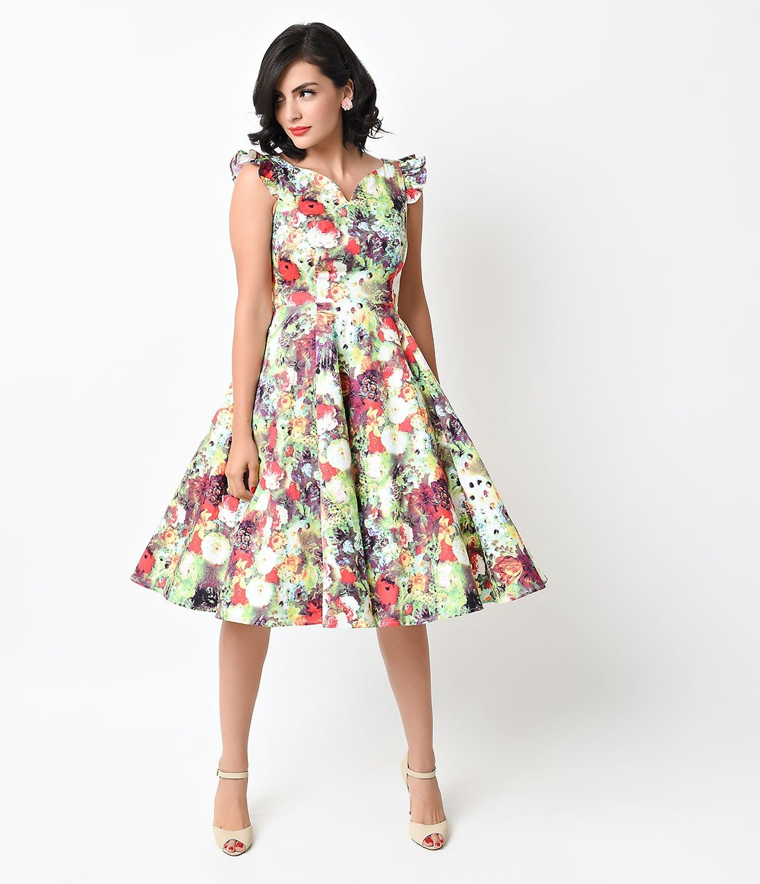 фото в стиляги модели стиле платьев