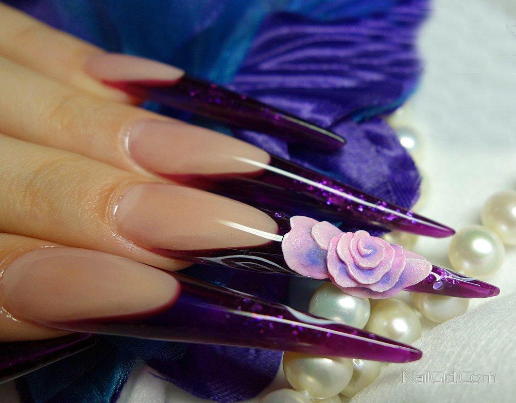 Картинки красивых сделанных ногтей