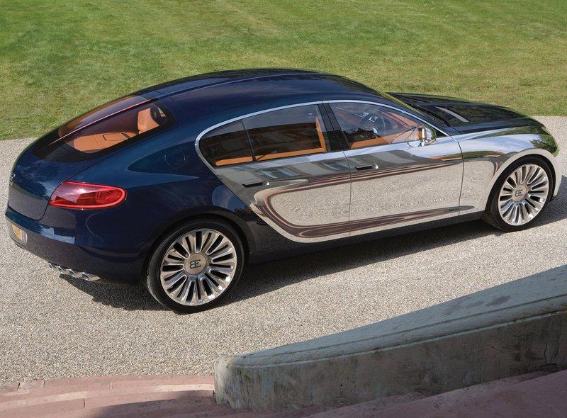 Bugatti Galibier -лучший выбор для города и не только