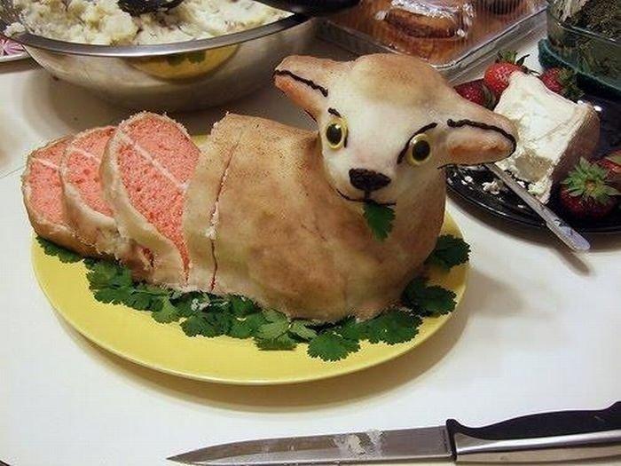Прикольная картинка о еде