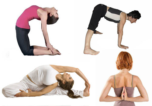 упражнения для позвоночника по системе йога.