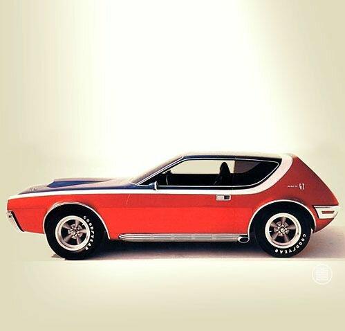 AMC AMX GT Concept '1968