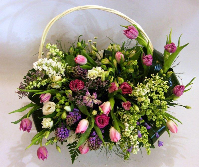 Нижний, букеты к 8 марта из живых цветов фото