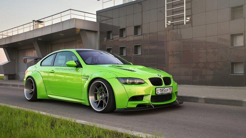 BMW E92 Liberty Walk