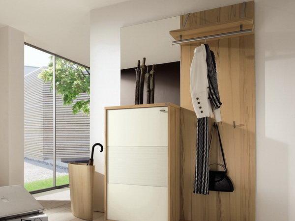 Разновидности вешалок в прихожую, обзор материалов и стилей.