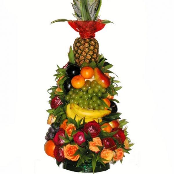украшения подойдут пирамида из фруктов фото целые фрукты архитектурное общество