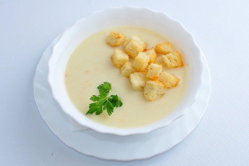 куриный крем суп рецепт с фото резинок