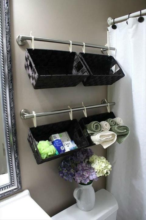 Как организовать систему хранения вещей в маленькой спальне. Как оптимизировать пространствов маленькой ванной комнате.
