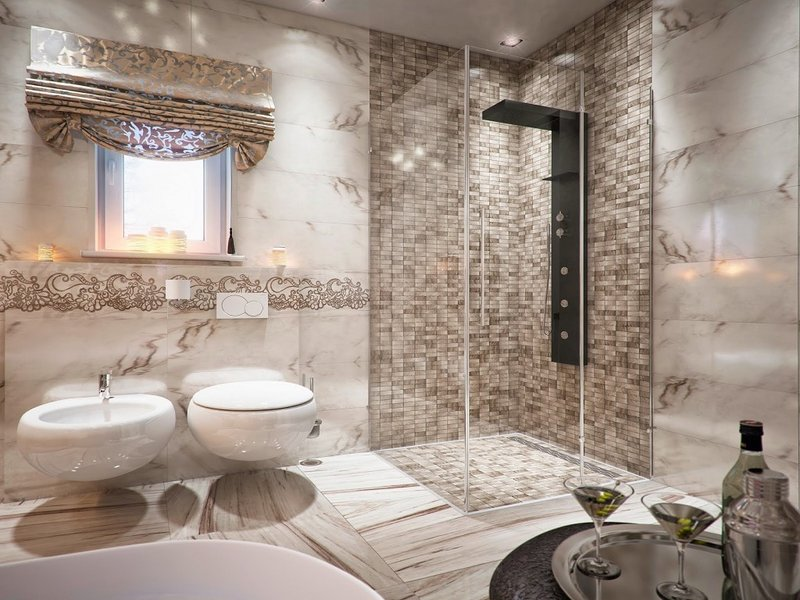 Дизайн туалета - фото 150 практичных идей для оформления интерьера туалета