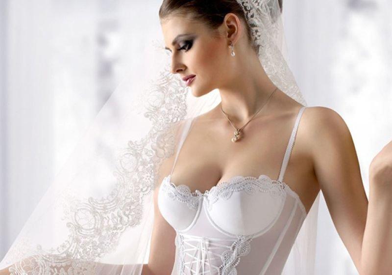 Красивые трусы невесты — pic 4
