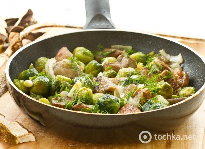 блюда с брюссельской капустой рецепты