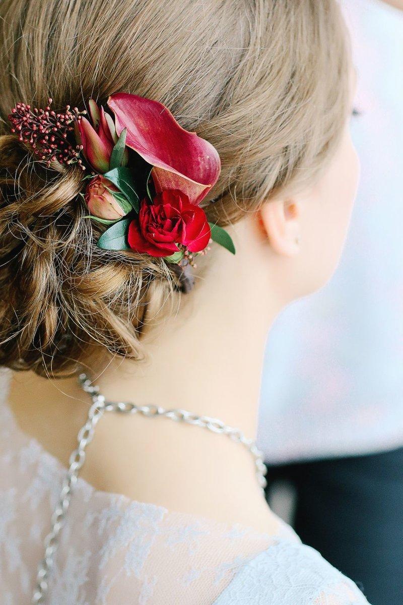 Свадебные прически - Студия красоты Бьютибар Уфа