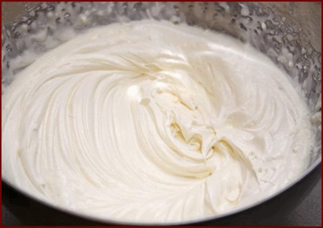 Крем со сливок для торта рецепт фото