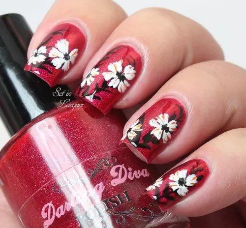 Лак для росписи цветов