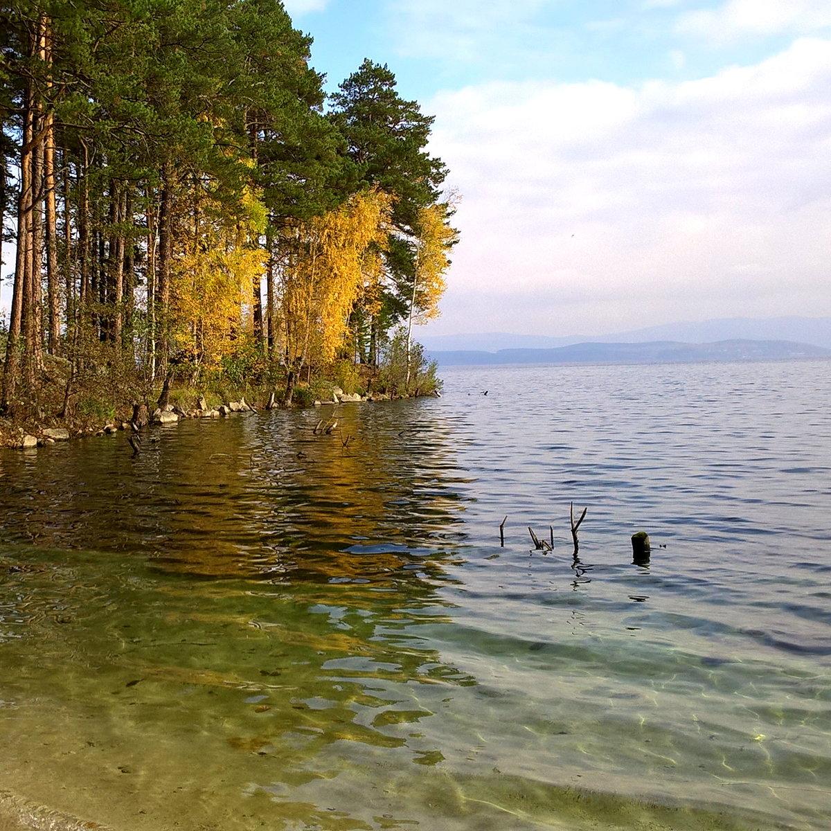 Сделанная пейнт, картинки челябинские озера