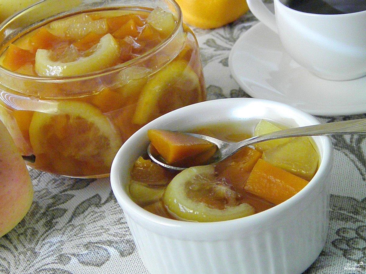варенье из тыквы с яблоками картинки том