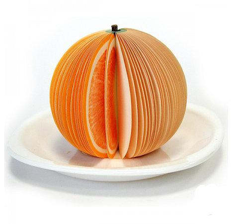 """Блокнот для рецептов """"Апельсин"""" своими руками."""