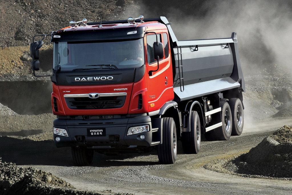 Преимущество самосвалов  Daewoo Trucks