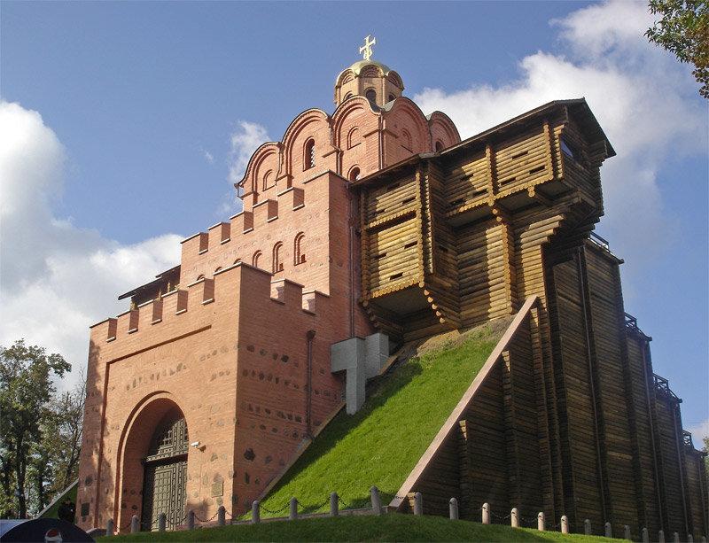 достопримечательности Украины в центральных городах страны.