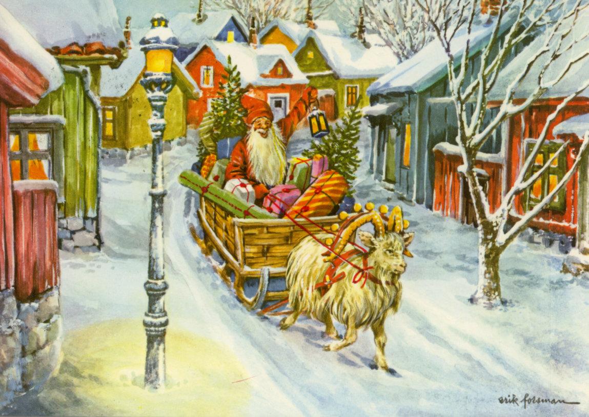 Днем победы, рождественская открытка финляндия