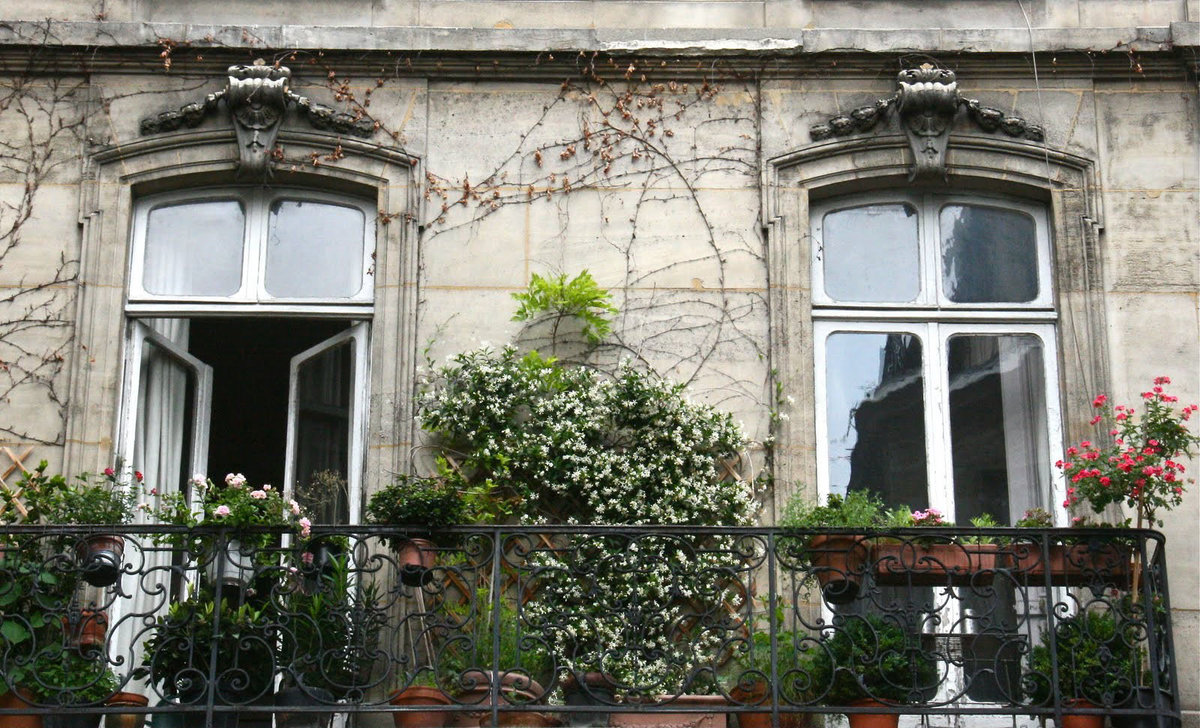 Что такое французский балкон фото.