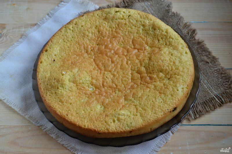 рецепт бисквитного теста без фото