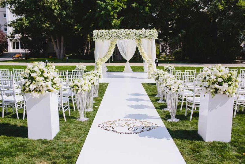 Свадебное оформление. Свадебная церемония