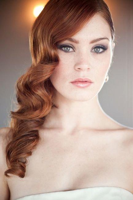 Прическа голливудская волна: красивая укладка волос. Как сделать прическу голливудская волна, видео урок, в домашних условиях, фото и картинки прически ...